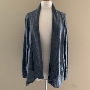 Athleta Pranayama Wrap Open Front Cardigan Large